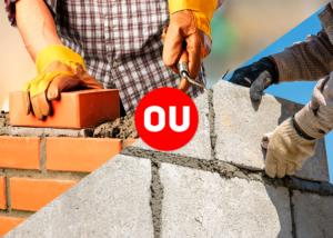 Diferença construção convencional e estrutural